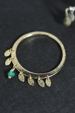 画像1: 【完全受注生産】First green Ring(お届け2〜3週間)