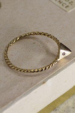 画像1: 【完全受注生産】Pyramid Ring(お届け2〜3週間)