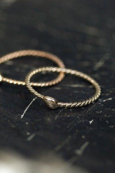 画像1: 【完全受注生産】Rope Ring L(お届け2〜3週間)