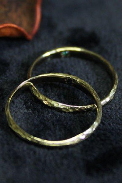 画像1: 【完全受注生産】Rainbow pinky Ring(お届け2〜3週間)