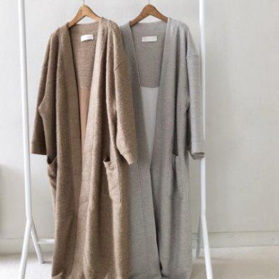画像1: ソフトウールガウンコート【Softwool Gown Coat】