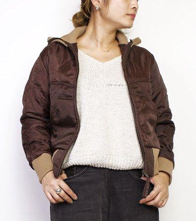画像1: ウエスタンカッティングキルティングジャケット【circa make western cutting quilting jacket】