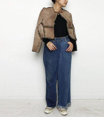 画像2: ムートンショール【circa make mouton shawl】