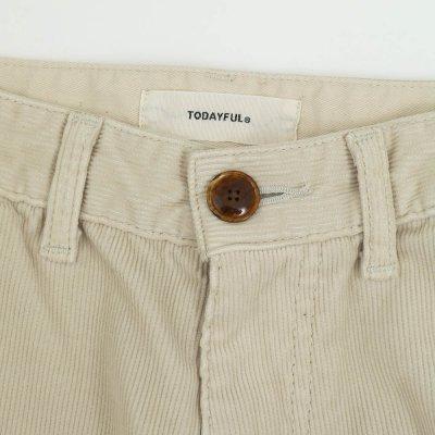 画像2: コーデュロイアンクルパンツ【Corduroy Ankle Pants】