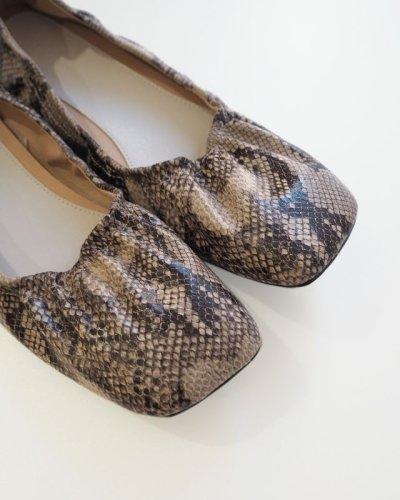 画像2: シャーリングバレエシューズ【Shirring Ballet Shoes】