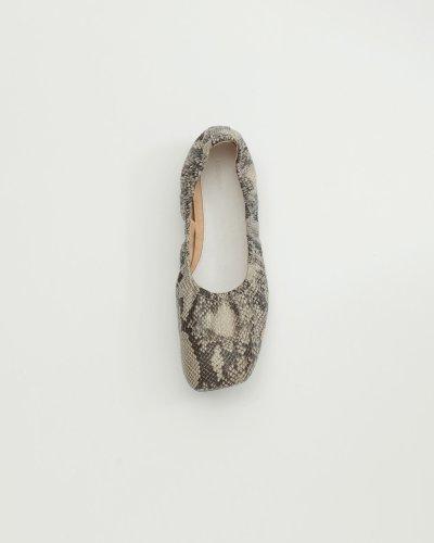 画像1: シャーリングバレエシューズ【Shirring Ballet Shoes】