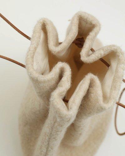 画像2: ウールパイルパース【Wool Pile Purse】