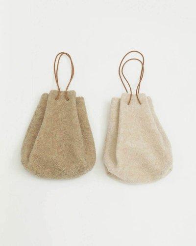 画像1: ウールパイルパース【Wool Pile Purse】