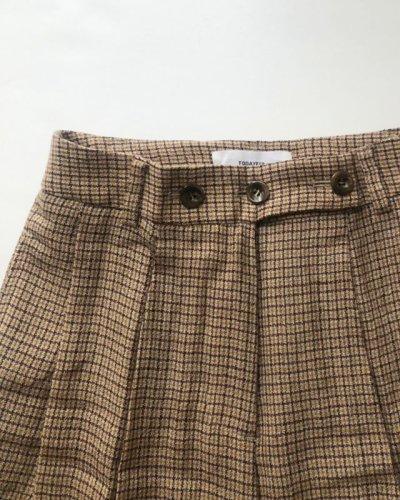 画像2: ウールチェックトラウザー【Wool Check Trousers】