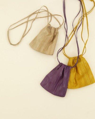 画像1: レザーミニポシェット【Leather Mini Pochette】