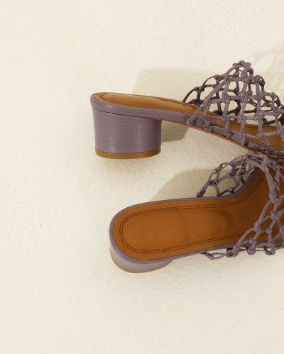 画像2: レザーメッシュサンダル【Leather Mesh Sandals】