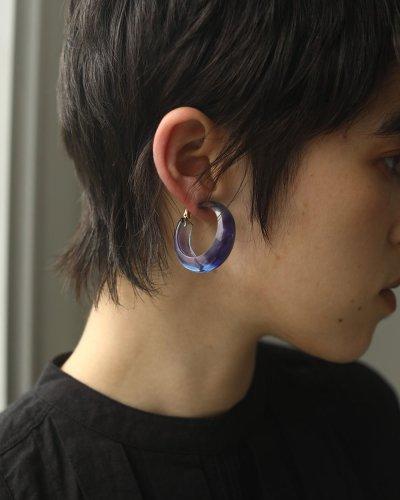 画像3: グラデーションフープイヤリング【Gradation Hoop Earring】