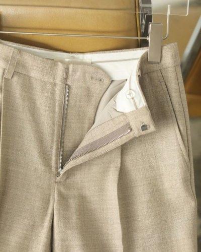画像2: ジョーゼットスリットパンツ【Georgette Slit Pants】