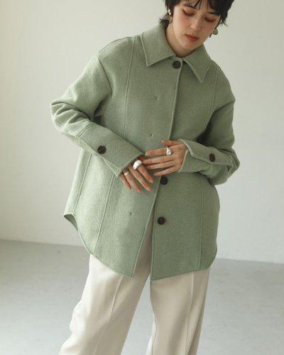 画像2: ウールシャツジャケット【Wool Shirts Jacket】