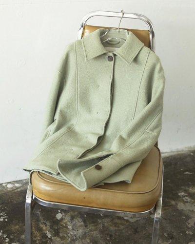 画像1: ウールシャツジャケット【Wool Shirts Jacket】