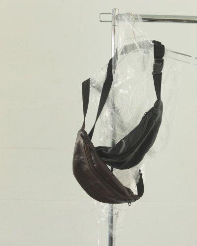 画像1: レザージップサコッシュ【Leather Zip Sacoche】