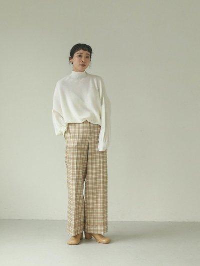 画像2: センタープレスチェックトラウザー【Centerpress Check Trousers】