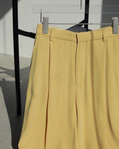 画像2: ジョーゼットラフトラウザー【Georgette Rough Trousers】