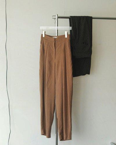 画像1: ハイウエストドットパンツ【Highwaist Dot Pants】