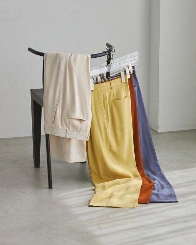 画像1: ジョーゼットラフトラウザー【Georgette Rough Trousers】
