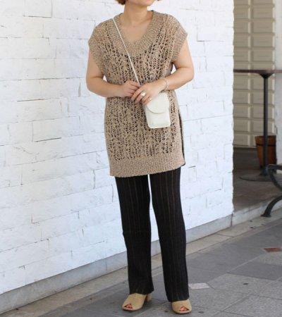 画像2: ランダムリブニットパンツ【Randomrib Knit Pants】
